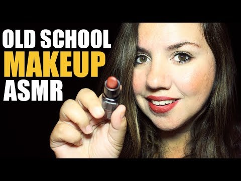 ASMR Old School Makeup Role Play