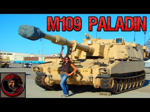 M109A6 Paladin 155 mm self-propelled howitzer - American Artillery