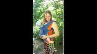 Обзор Ergo Baby Carrier . Рюкзак - переноска для новорожденных.