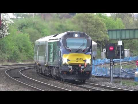 "(HD) Trains at Princes Risborough, Chiltern Mainline (Incl. Class 121 ""Bubble Car"") 