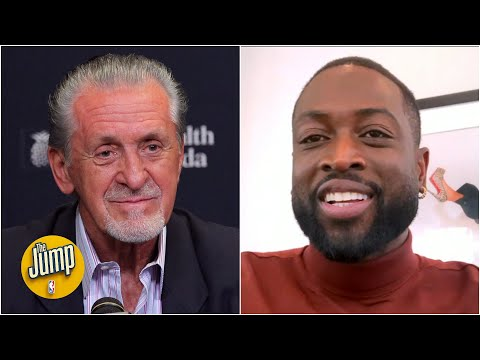 Dwyane Wade and Chris Bosh react to Pat Riley's comments on LeBron James | The Jump