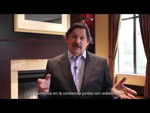 Napoleón Gómez Urrutia Felicitación Industri Energi