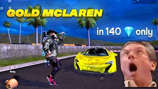 McLaren ascension event   Token tower event free fire  Free fire new sports car skin