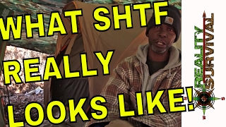 What SHTF Really Looks Like! -- A Hand Up by JJ Johnson