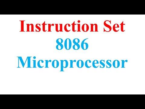 Instruction Set 8086 Microprocessor