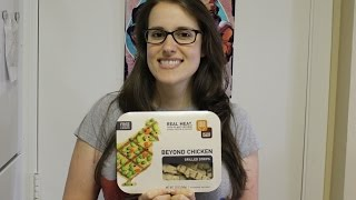 Beyond Meat Taste Test (Beyond Chicken Grilled Strips)