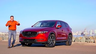 A Refined CUV? 2017 Mazda CX-5 Crossover TECH REVIEW (1 of 5)