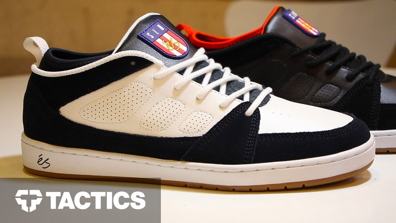 Skate shoes 2017 - Es Slb Skate Shoes Review With Kelly Hart Don Brown Spring 2017 Tactics Com