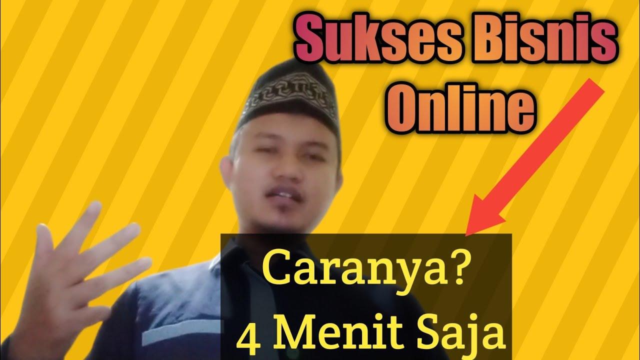 Sukses Bisnis Online dengan Cepat - YouTube