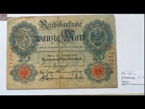 Neue Banknoten aus dem Deutschen Reich - Update
