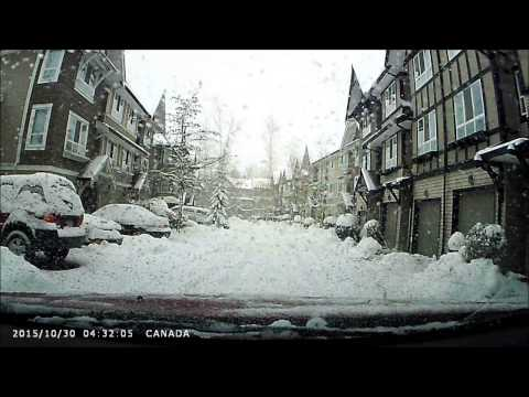Canadian Winter Driving! Langley B.C