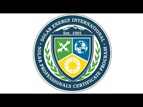 SEI Launches Solar Professionals Certificate Program - Solar Energy International