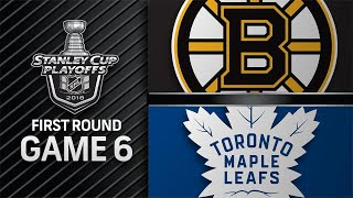Maple Leafs beat Bruins at home to force Game 7