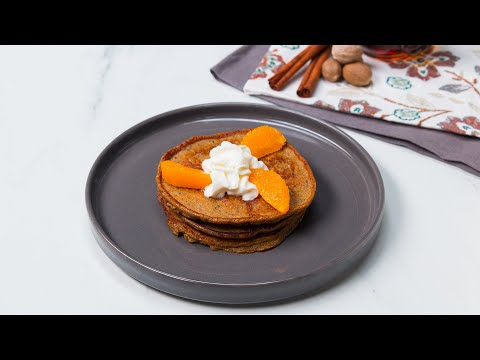 High-Protein Gingerbread Pancakes
