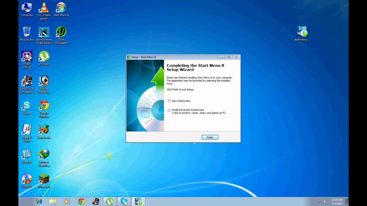 Windows 7 Start Button Changer v