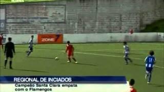Santa Clara 3-3 Flamengos (iniciados)