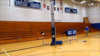 Upright man lift for sale | sold at auction November 6, 2012