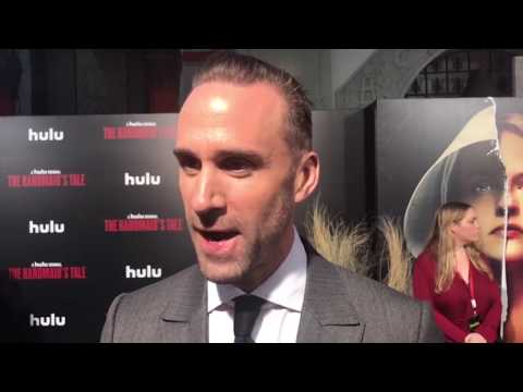 'The Handmaid's Tale' Season 2 red carpet interviews with Ann Dowd, Joseph Fiennes, Bruce Miller