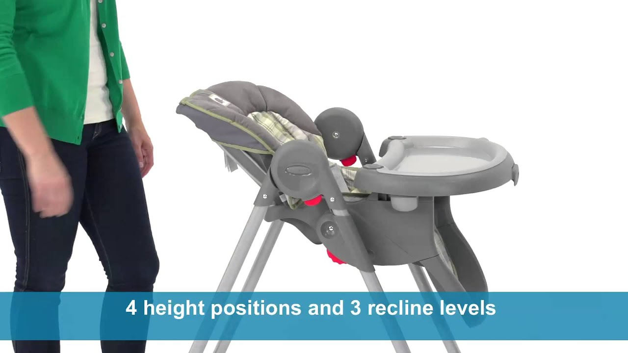 Graco 4 In One High Chair Graco Meal Time High Chair Youtube