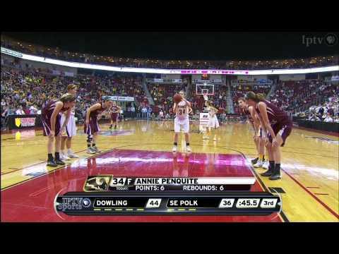 5A IGHSAU Iowa Farm Bureau Girls State Basketball Championship 2014