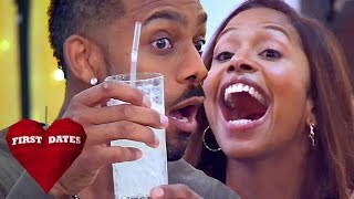 Richard Blackwood Spends Evening Getting Mocked For Girly Drinks | Celebrity First Dates