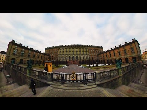 360 VR Tour | Stockholm | Royal Palace | Church of Saint Nicholas | Outside | No comments tour