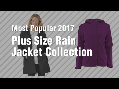 Plus Size Rain Jacket Collection Most Popular