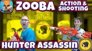 Zooba vs Hunter Assassin Gameplay and Review