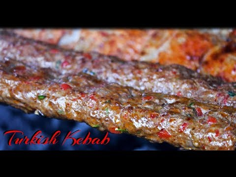 Turkish Kebab Recipe International Cuisines
