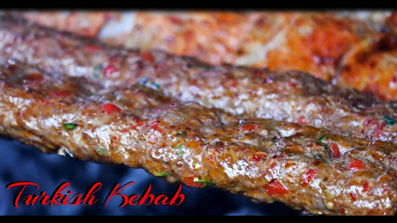 Turkish Kebab Recipe International Cuisines Youtube