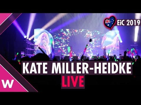 """Kate Miller-Heidke """"Zero Gravity"""" (Australia 2019)LIVE @ Eurovision in Concert"""