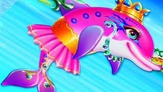 Мультики для детей  Мультики для девочек  Про животных для детей  Мультик про дельфина  Мультик игра