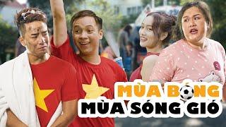 [ Nhạc chế ] Mùa Bóng Mùa Sóng Gió -  Sóng Gió Parody   Phim Hài Ca Nhạc - muối tv