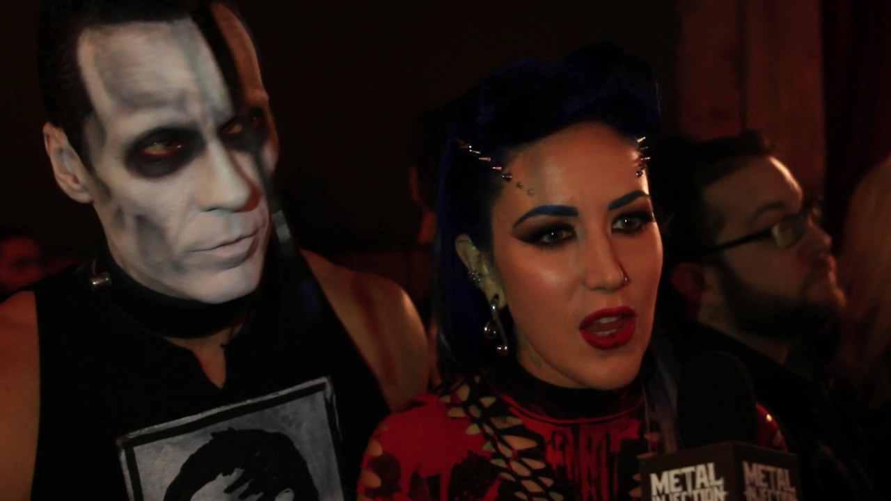 DOYLE & ARCH ENEMY's Alissa White-Gluz Interview at Revolver Music Awards  2016 | Metal Injection