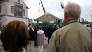 Tal av Christopher O'Regan vid nationaldagsfirande på Slussen den 6 juni 2014