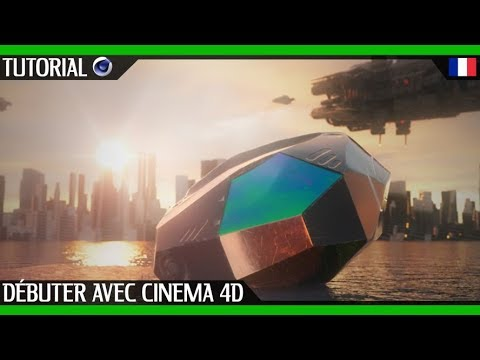 Tutoriel sur les bases de Cinéma 4D | Fançais