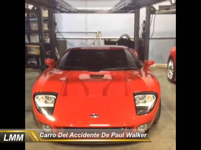 Carro Del Accidente De Paul Walker Brayan Oconer Videos De Viajes