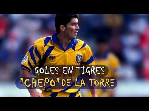 """Goles de José Manuel de la Torre """"Chepo"""" en Tigres"""