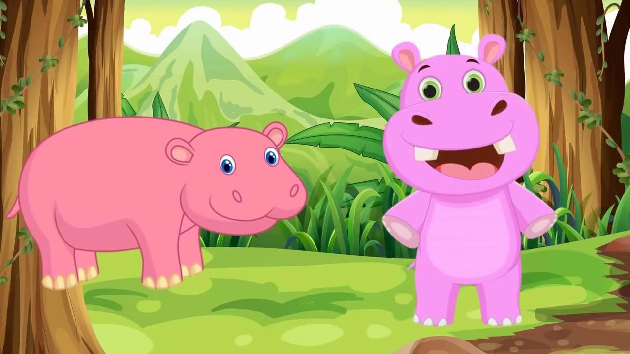 image Con gì đây | em bé tập nói các con vật | học tiếng kêu con khỉ con gấu | Dạy trẻ thông minh sớm