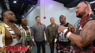 Seth Rollins, The New Day, Edge & Christian and The Dudley Boyz cross paths: Raw, September 7, 2015