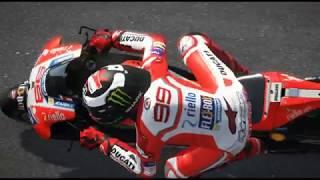 MotoGP Italia Mugello Performa Jorge Lorenzo Versi Game PC MotoGP 17 Mod 18 Race TV Camera