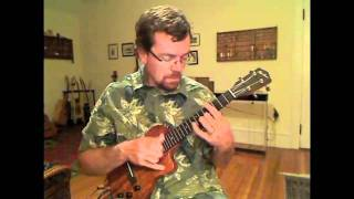 Marty Robbins Big Iron and Ghost Riders In The Sky ukulele instrumental