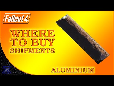 Fallout 4 - How to Find Shipments of Aluminium Guide | Complete Material Guide