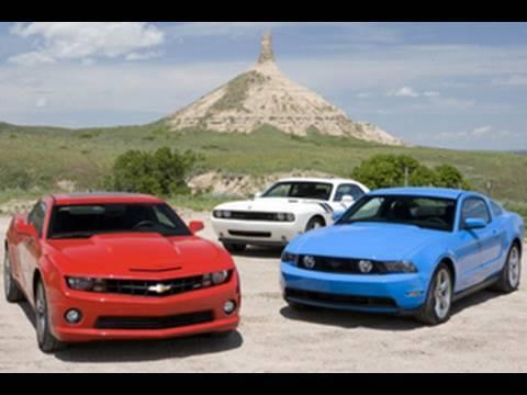 2010 Chevrolet Camaro Ss Vs 2010 Ford Mustang Gt Vs 2009 Dodge