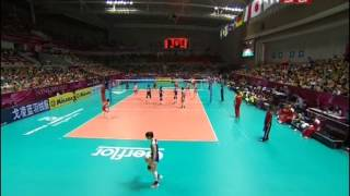 China-Turkey (1-3) 2012 FIVB World Grand Prix