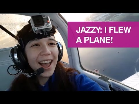 Jazzy: I flew a plane! Student life at the University of Glasgow.