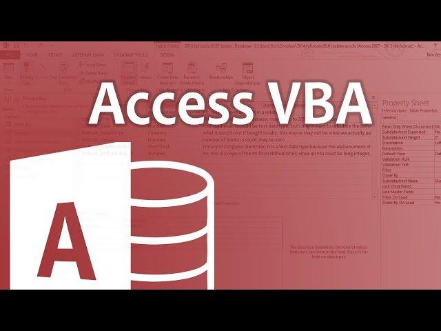 Access VBA 2016