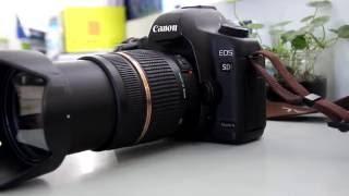 Trên tay Canon 5D Mark II + Hướng dẫn sử dụng chi tiết - full part