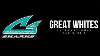 Cheer Sport Sharks - Great White Sharks 11/14/15