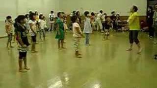 村祭りの子供の踊り練習 070901